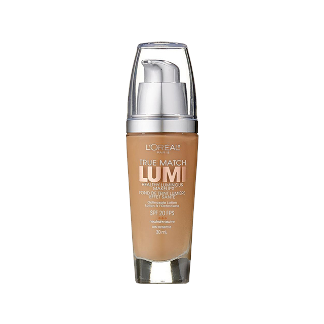 L'Oréal Paris True Match Lumi Healthy Luminous Makeup, N4 Buff Beige