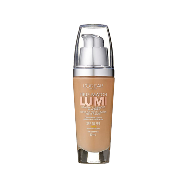 L'Oréal Paris True Match Lumi Healthy Luminous Makeup, W3 Nude Beige