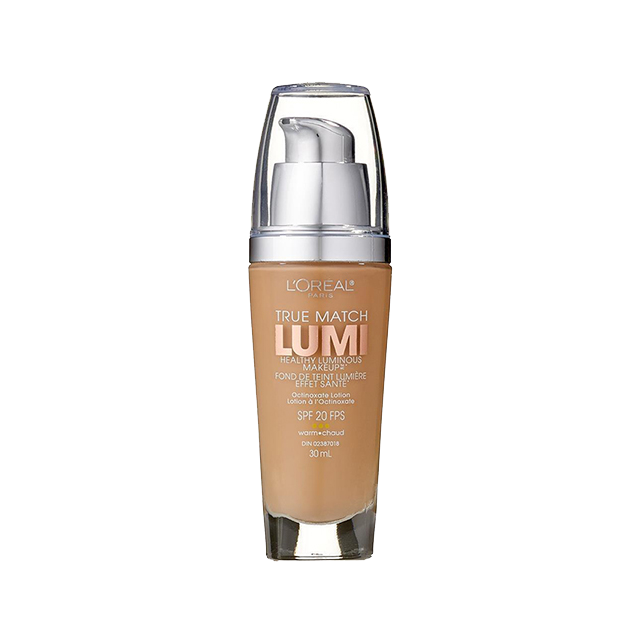 L'Oréal Paris True Match Lumi Healthy Luminous Makeup, W4 Natural Beige