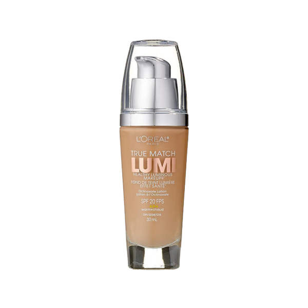 L'Oreal Paris True Match Lumi Healthy Luminous Makeup, W5 Sand Beige
