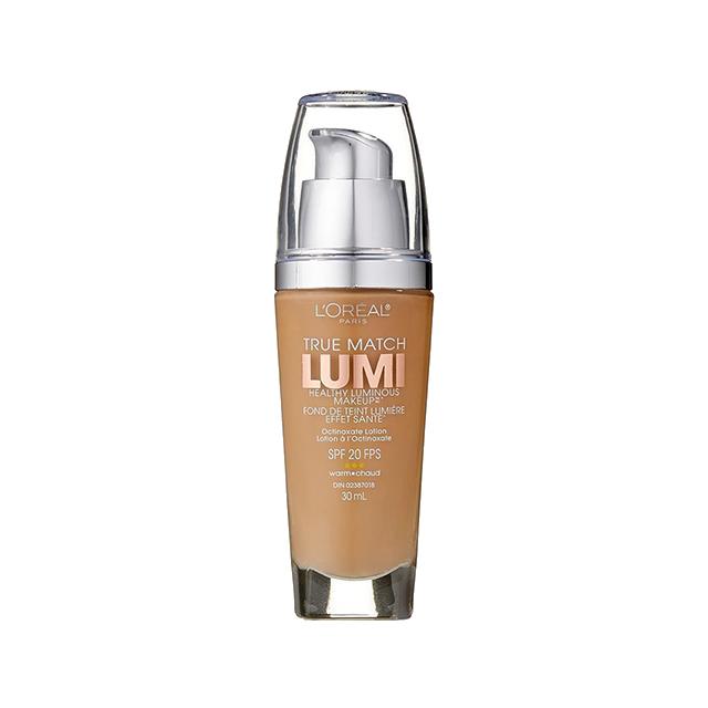 L'Oréal Paris True Match Lumi Healthy Luminous Makeup, W6 Sun Beige, 1 fl. oz