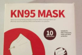 KN95 Face Mask Pack of 10 Fold Flat Comfortable Fit