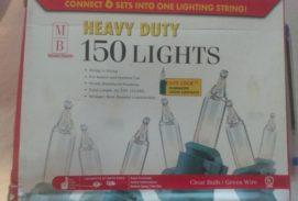 Merry Brite Heavy Duty 150 Lights Indoor-Outdoor